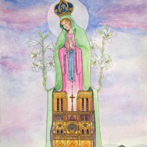 Notre Dame priez pour nous